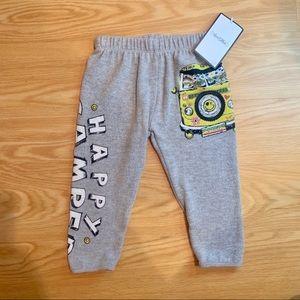 NWT. Lauren Moshi Kids | Happy Camper Sweatpants